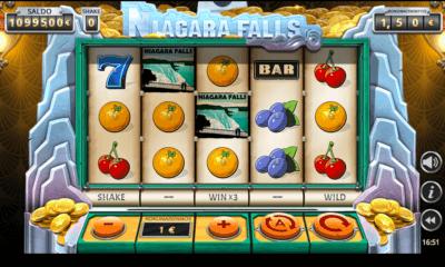 Niagara Falls uusi kolikkopeli