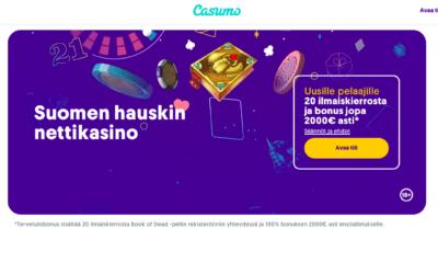 Casumo etusivu