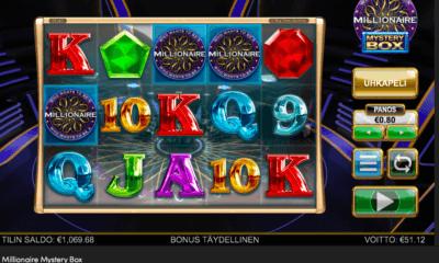 Millionaire Mystery Box kolikkopeli