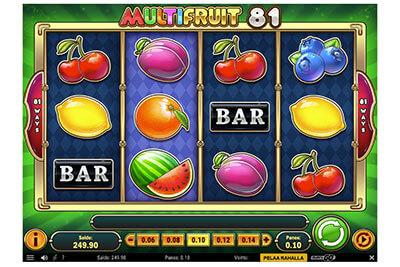 Multi Fruit-hedelmäpeli