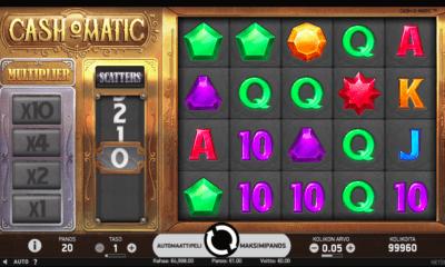 Cash o Matic uusi kolikkopeli
