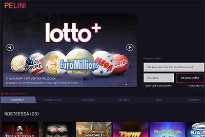 Valikoimista löytyy myös mm. Eurojackpot-lotto