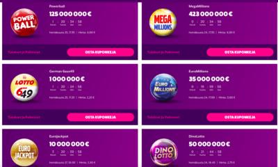 Lottovalikoima