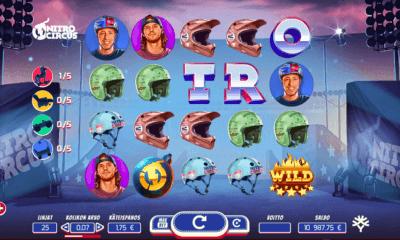 Nitro Circus kolikkopeli