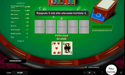 Pokeri raaputusarpa
