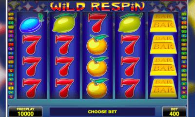 Wild Respin peliautomaatti