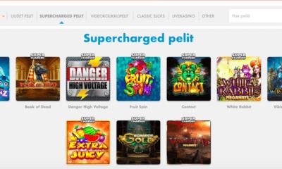 Supercharged kolikkopelit