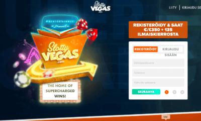 Slotty Vegasin etusivu