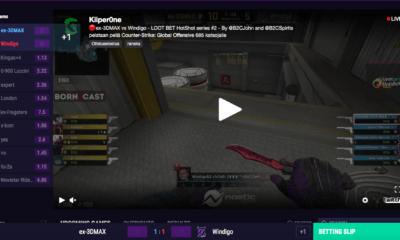 Twitch live stream (esports)