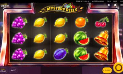 Uusi Mystery Reels hedelmäpeli