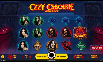 Ozzy Osbourne kolikkopeli