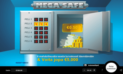 Mega Safe raaputusarpa