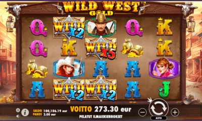 Wild West Gold - peli